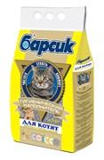 Барсик Наполнитель для котят антибактериальный 4,54л.