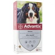 Адвантикс капли от блох и клещей для собак весом от 40 до 60 кг , 1 пипетка