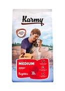 Карми сухой корм для собак средних пород с индейкой 15кг