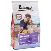 Карми сухой корм Стартер для щенков, беременных и кормящий сук  с индейкой2кг