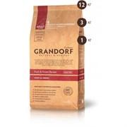 Grandorf сухой корм для собак всех пород утка рис 1кг