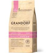Grandorf сухой корм для котят с ягненком и рисом 400г