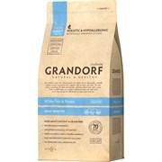 Grandorf сухой корм для кошек с белой рыбой и рисом 400г