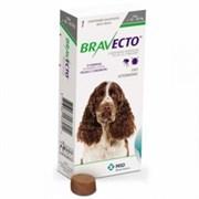Бравекто (MSD Animal Health) таблетки от блох и клещей для собак весом 10-20 кг