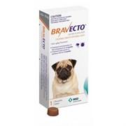 Бравекто (MSD Animal Health) таблетки от блох и клещей для собак весом 4,5-10 кг