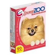 Доктор Зоо Витамины для собак со вкусом ветчины (90таб.)