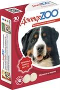Доктор Зоо Витамины для собак кожа/шерсть 90т