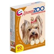Доктор Зоо Витамины для собак копчености 90т