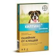 Килтикс Gold Line ошейник от блох и клещей для собак средних пород