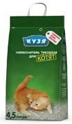 Кузя Наполнитель впитывающий для котят 4,5л*2,8кг