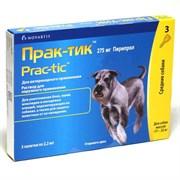 Прак-тик (Prac-tic) Капли на холку от клещей и блох для собак весом 11-22кг, 1 пипетка