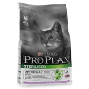 Pro Plan сухой корм для стерилизованных кошек кролик 1,5 кг